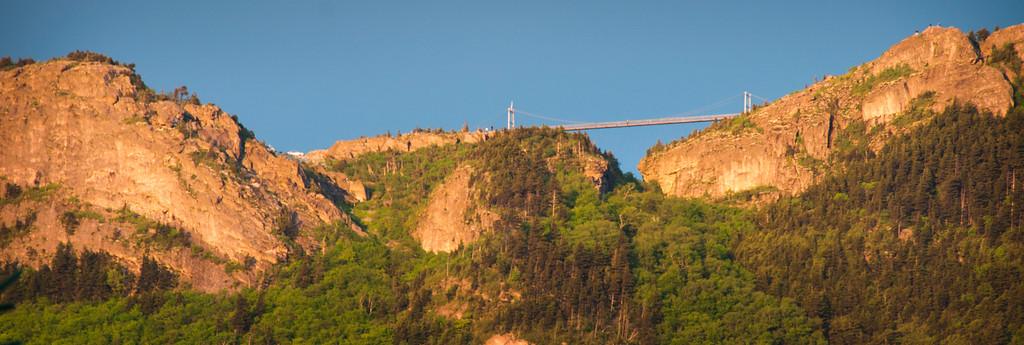 Grandfather Mounntain-Mile High Swinging Bridge